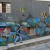 Bunte Buden und bebender Boden in Valparaiso