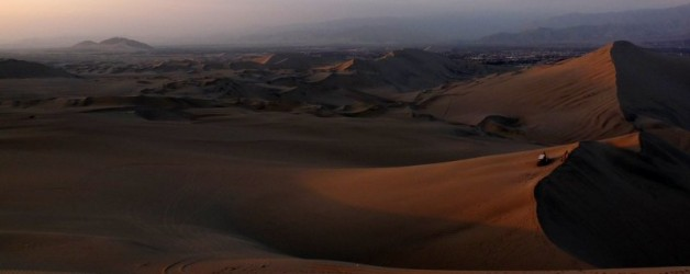 Sandiges Vergnügen in Huacachina