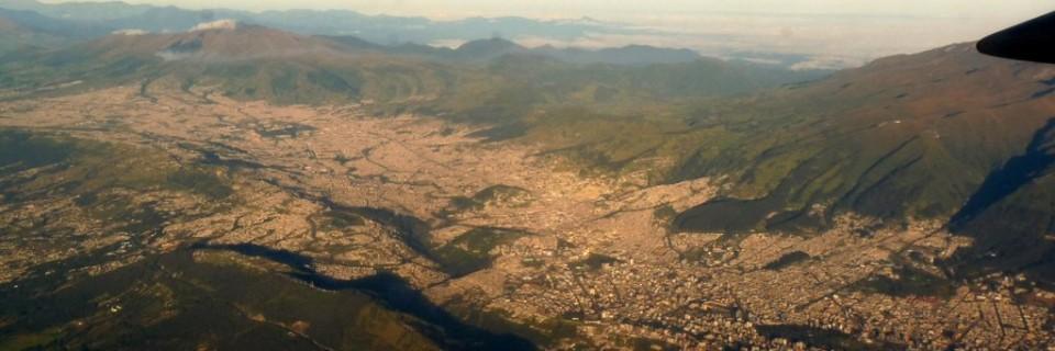 Die Mitte der Welt in Quito
