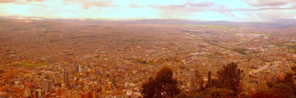 Von -12 auf 3125 Meter in Bogotá