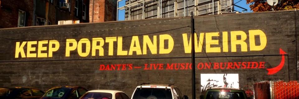 West Coast II – Seltsam bleiben in Portland