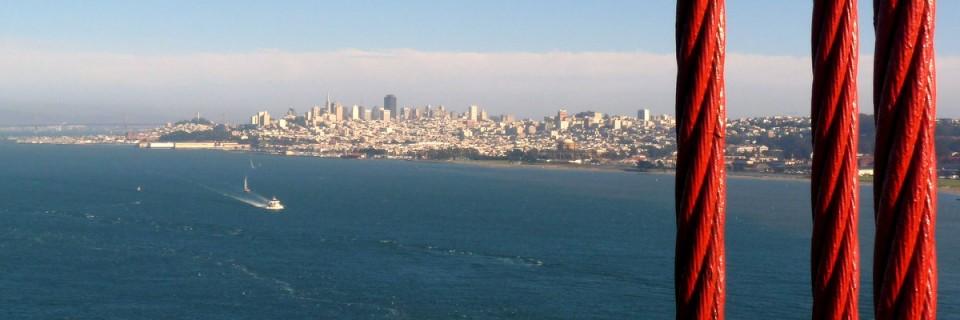 West Coast IV – Das goldene Tor in San Francisco