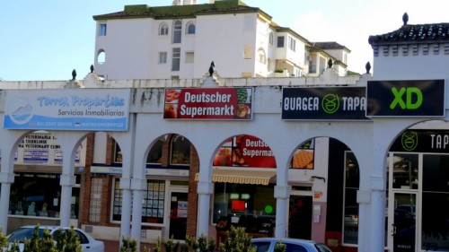 In Torrox - Deutsche, Kauft deutsche Bananen!