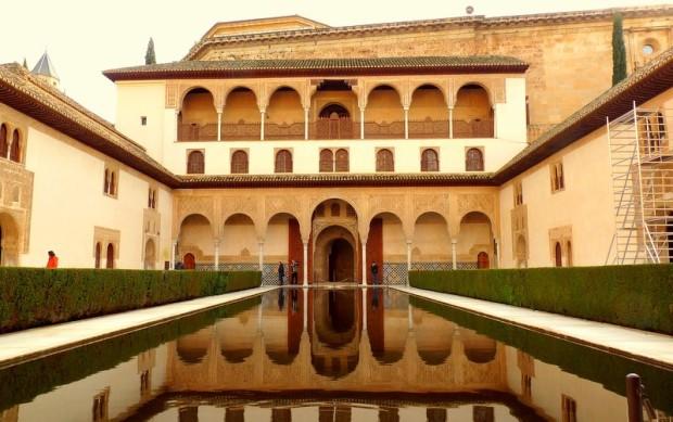 Im Palacio Nasrid
