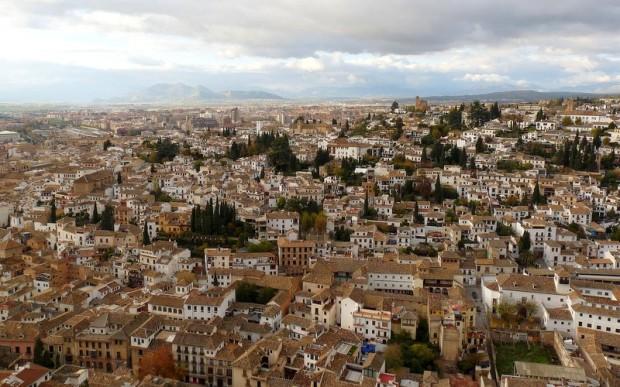 Granada, größtenteils Albayzín