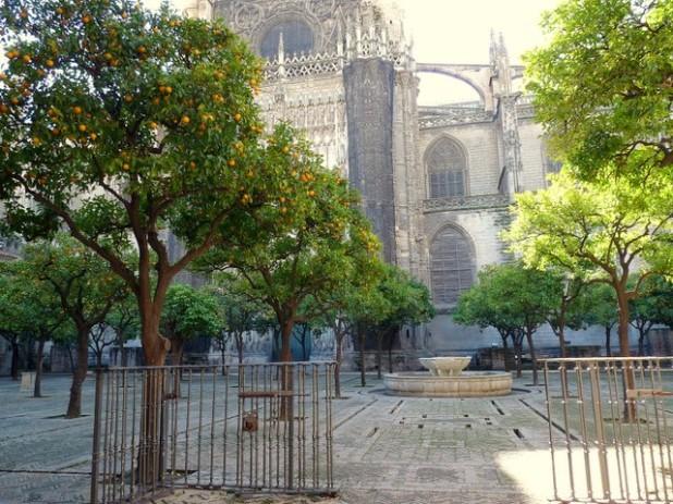 Innenhof der Kathedrale