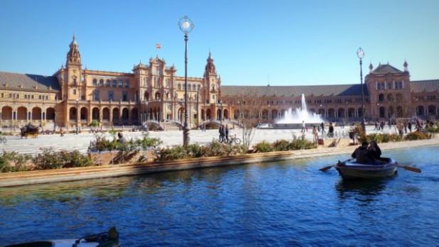 Plaza de España - eines der schönsten Gebäude, die ich kenne