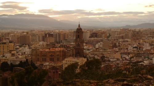 Aussicht auf Malaga
