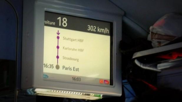 302 km/h im TGV