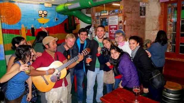 Sichtlich glücklich in El Mariatchi