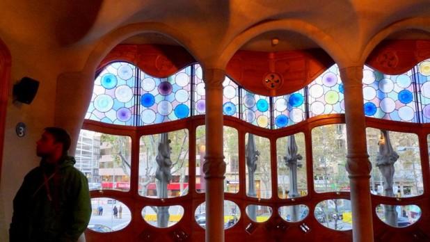 Im Wohnzimmer des Casa Batlló