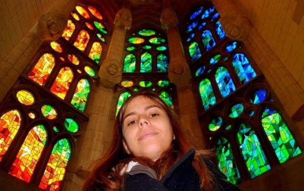 Sagrada Familia. Einfach wow! Und ich bin kirchentechnisch nicht leicht zu beeindrucken.