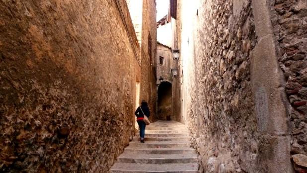 In den Gassen von Girona