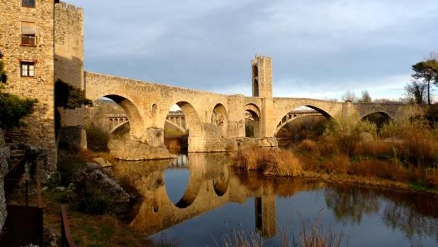 Die Brücke von Besalú