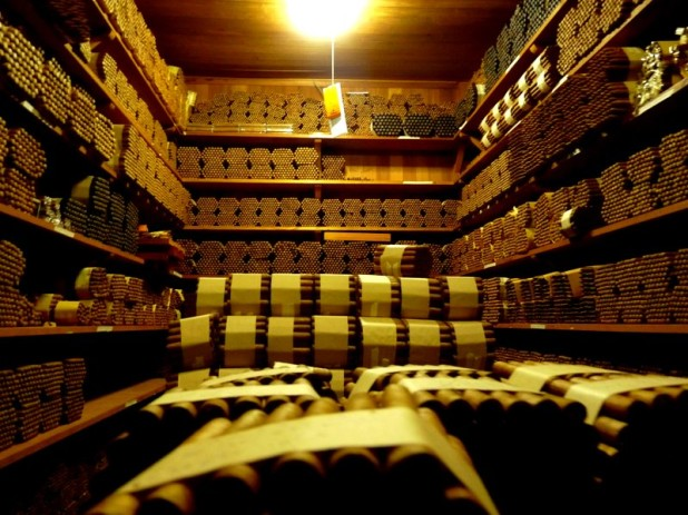 Im Zigarren-Tresor