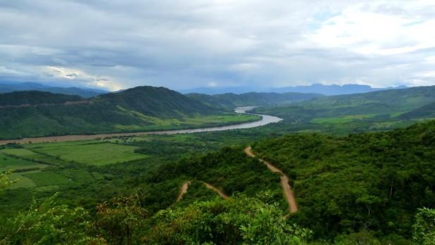 Aussich auf dem Weg zur Laguna Azul