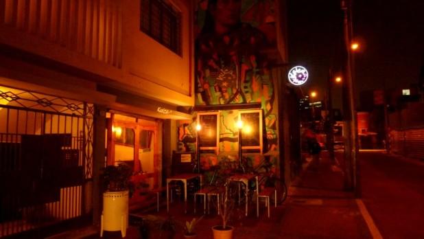 Das Kulcafé - das wohl einzige Cafe in Lima, wo es Nutellabrot gibt