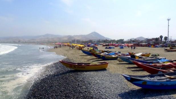 Der Strand von Cerro Azul