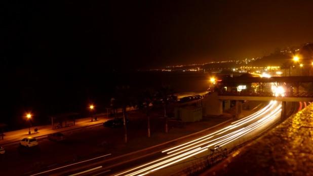 Costa Verde bei Nacht