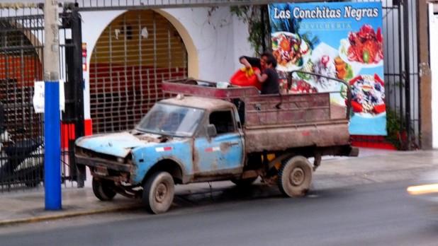 Ein neuer Kandidat für das kaputteste Auto Südamerikas, das noch fährt