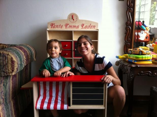 Rodrigo und sein Tante-Vani-Laden