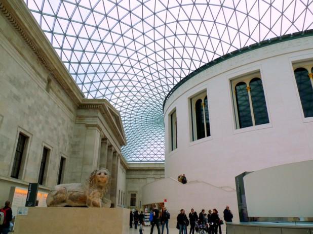 Eingangshalle des Britischen Museums