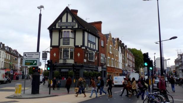 Ein Pub in Camden Town