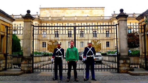 Palast des Präsidenten - Touri-Foto auf Touri-Walking-Tour