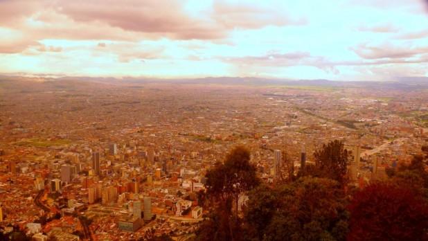 Die unendlichen Weiten Bogotas vom Montserrate