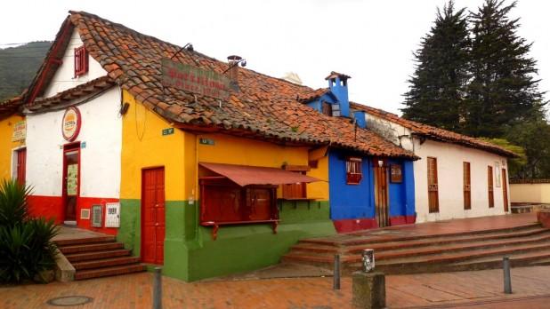 Ein Café in Downtown Bogotá