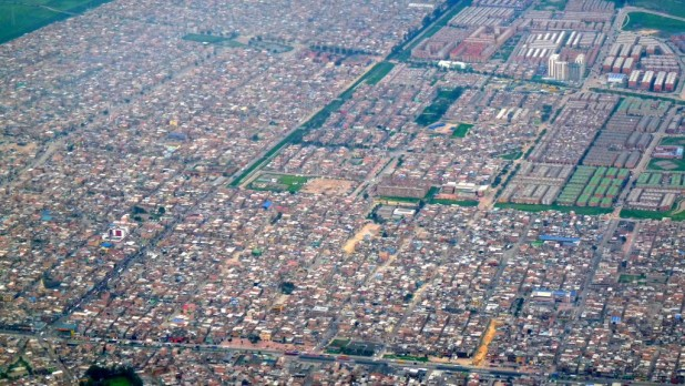 Knapp 7 Mio. Menschen wohnen in Bogotá