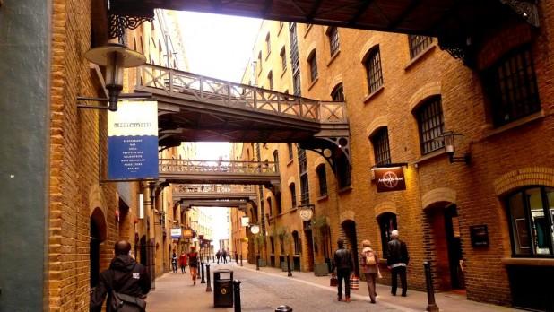 In Londons Hafenviertel