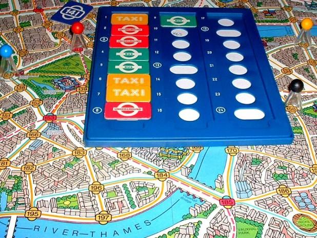 Wer will kann natürlich auch seinen Scotland-Yard-Spielplan mitnehmen