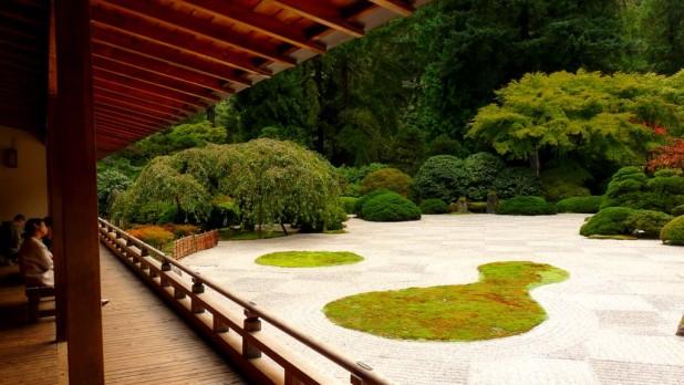 Japanischer Garten in Portland