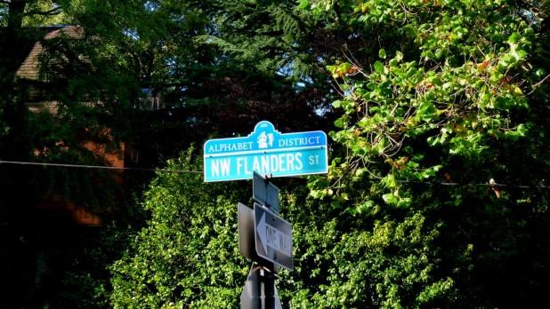 Zwischen Flanders St. und Lovejoy St. habe ich gewohnt