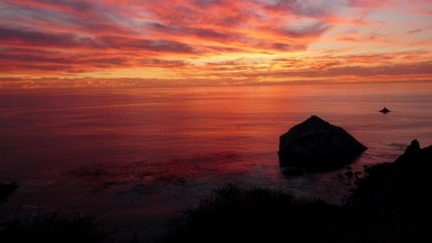 Letzter Sonnenuntergang in California