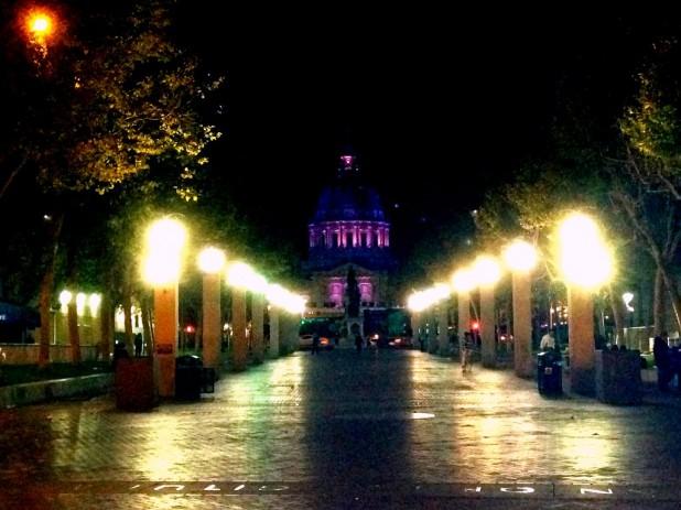 San Franciscos Rathaus bei Nacht