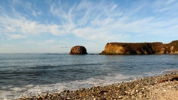 Guten Morgen, Big Sur (Pfeiffer Beach)