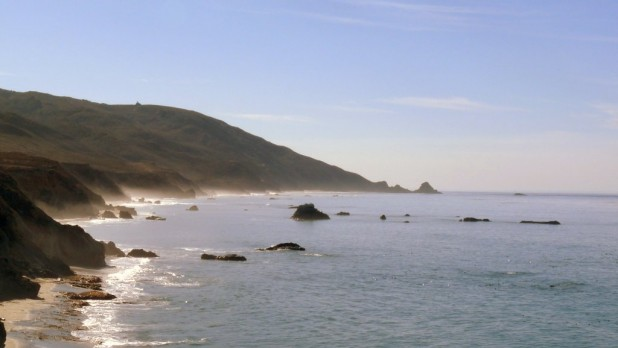 Die Küste in Big Sur
